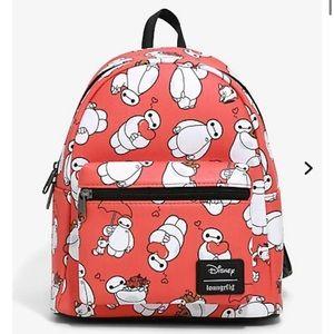 LOUNGEFLY DISNEY big hero 6, baymax mini backpack!